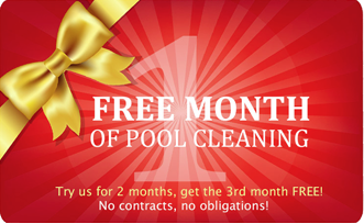 Get One Free Month Of Pool Cleaning Service